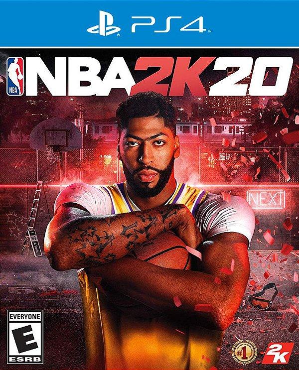 NBA 2K20 - PS4 - Mídia Digital