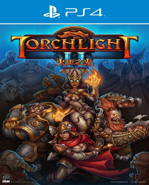 Torchlight II - PS4 - Mídia Digital
