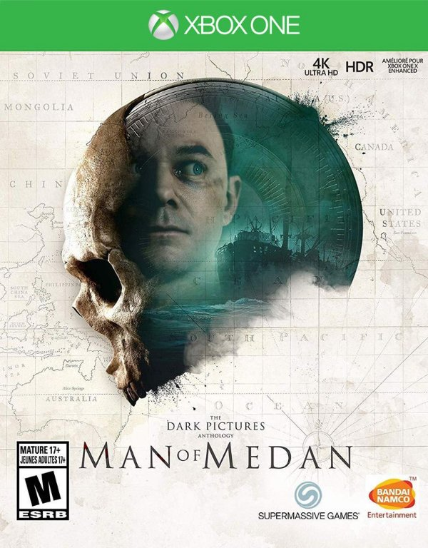 The Dark Pictures: Man of Medan - Xbox One - Mídia Digital