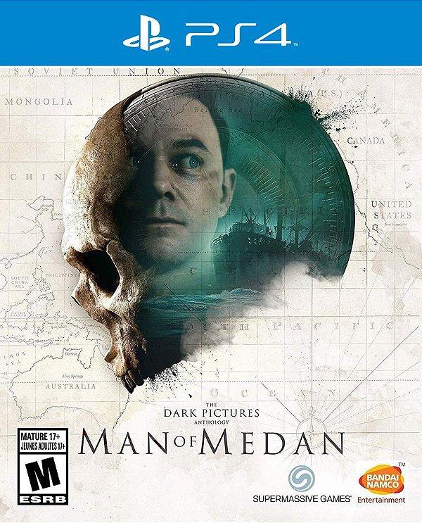 The Dark Pictures: Man of Medan  - PS4 - Mídia Digital