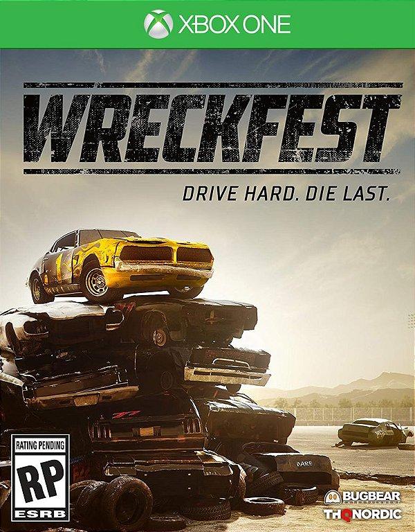 Wreckfest - Xbox One - Mídia Digital