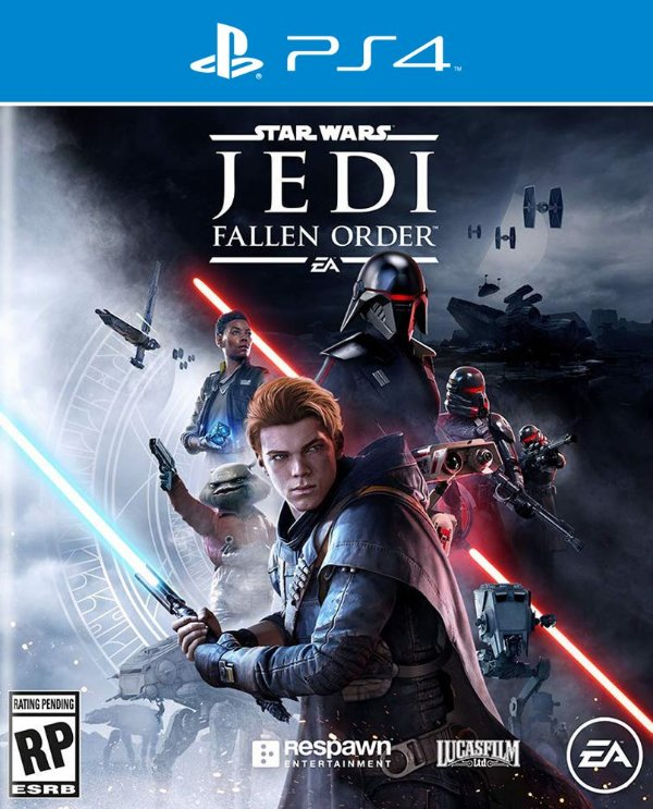 Star Wars Jedi Fallen Order - Ps4 - Mídia Digital