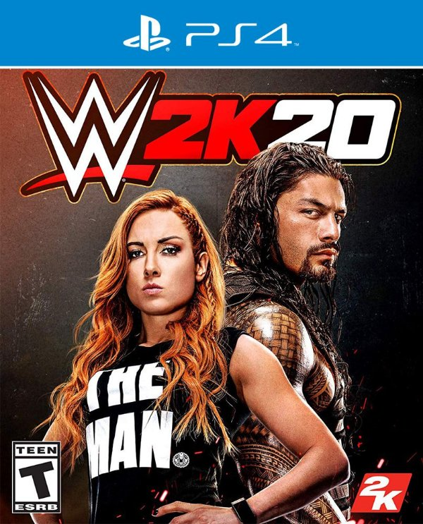 WWE 2K20 - PS4 - Mídia Digital