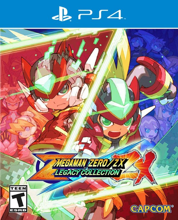 Mega Man Zero / ZX Legacy Collection - PS4 - Mídia Digital