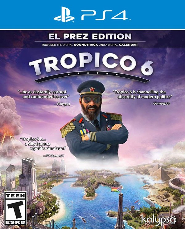 Tropico 6 - PS4 - Mídia Digital