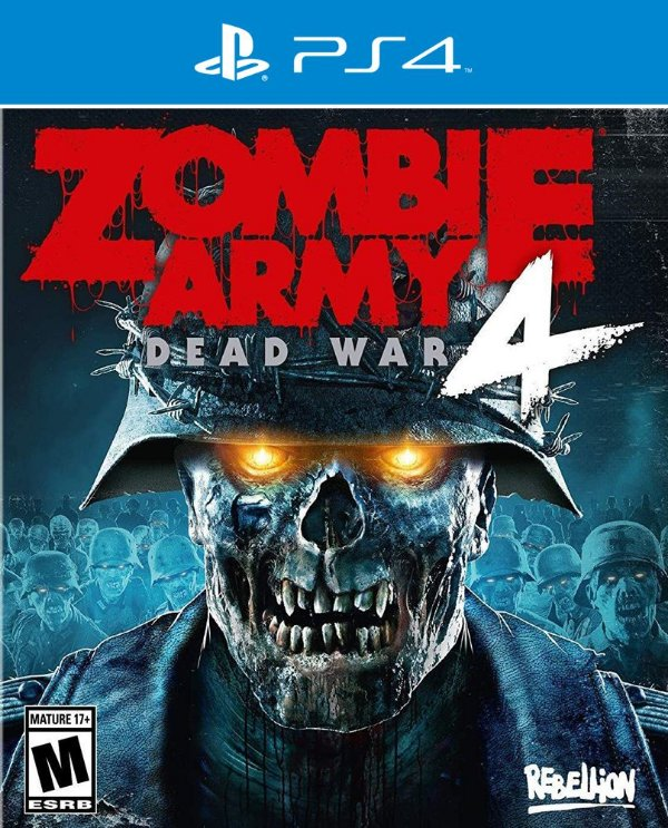 Zombie Army 4: Dead War - PS4 - Mídia Digital