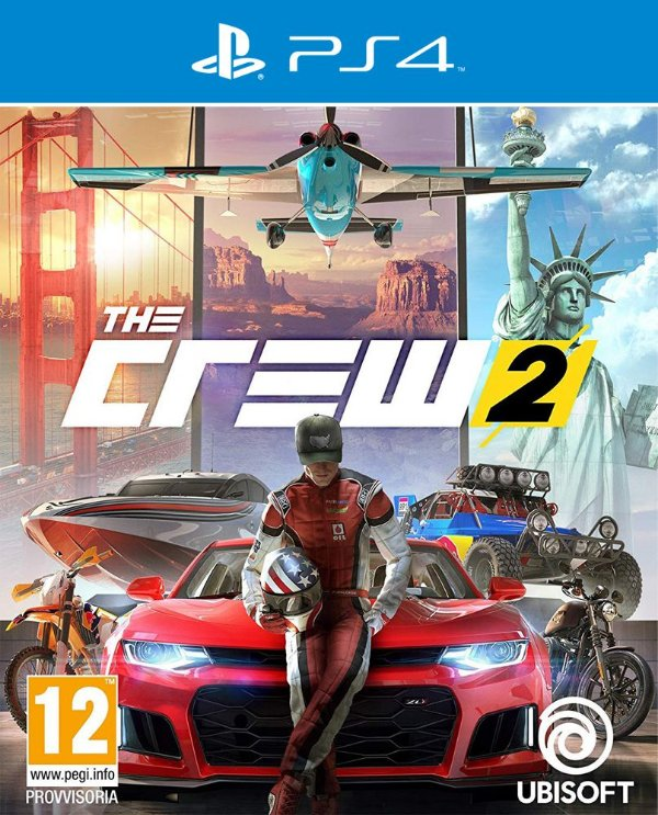 The Crew 2 - PS4 - Mídia Digital