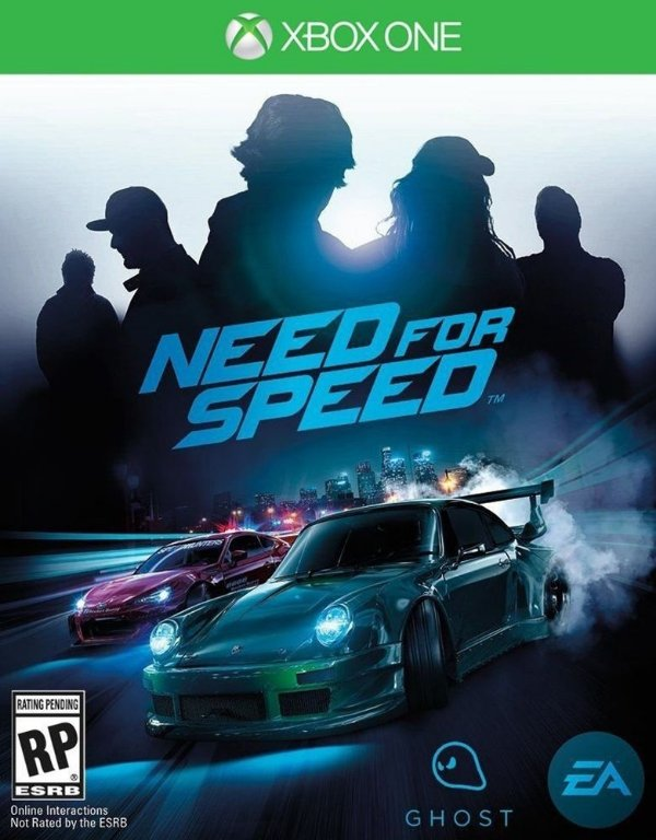 Need For Speed - Xbox One - Mídia Digital