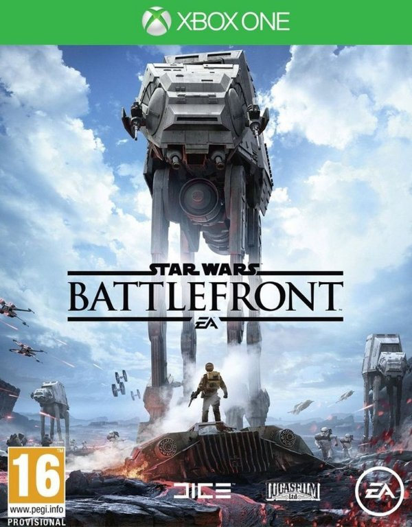 Star Wars Battlefront - Xbox One - Mídia Digital