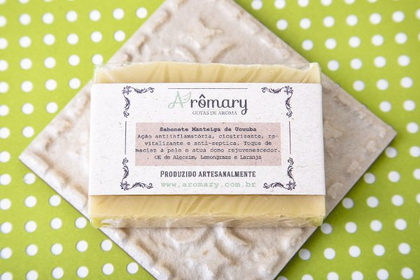 Sabonete Natural de Manteiga de Ucuúba