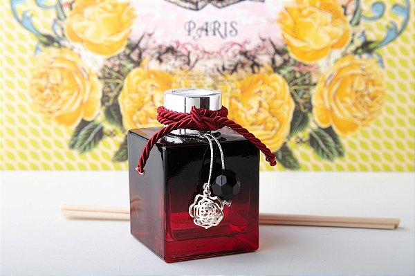 Difusor de Aroma Cubo Colors 100ml Rosas Vermelhas