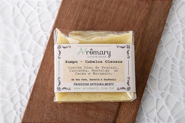 Xampu Cabelos Oleosos com Óleo de Pracaxi