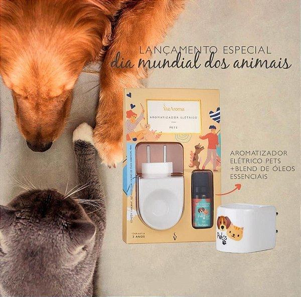 Aromatizador Elétrico Via Aroma para Pet