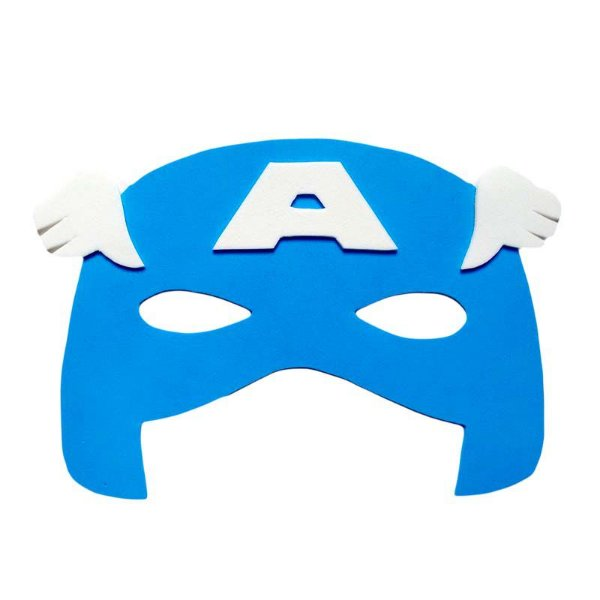 Máscara EVA Capitão América