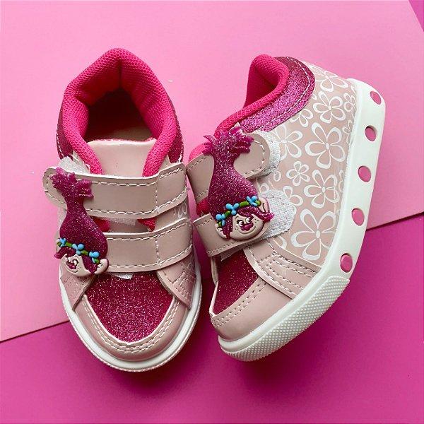 Tênis Bebê Duende Rosa