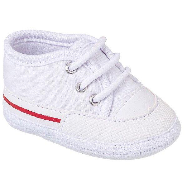 Tênis Basic Bebê Branco