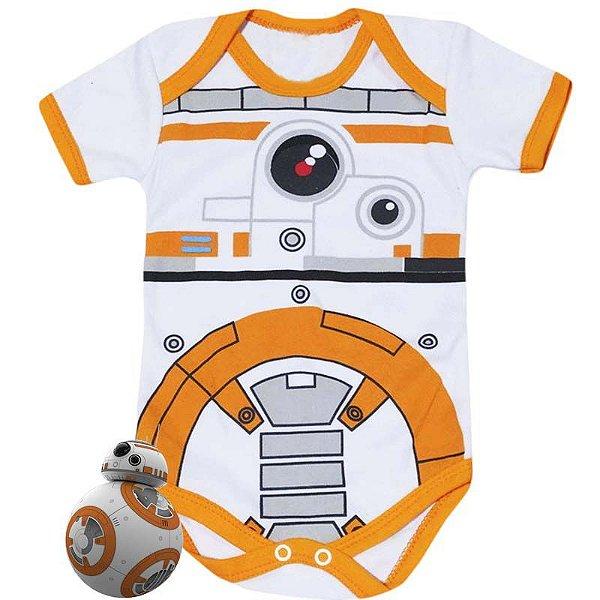 Body Bebê BB08 Star Wars