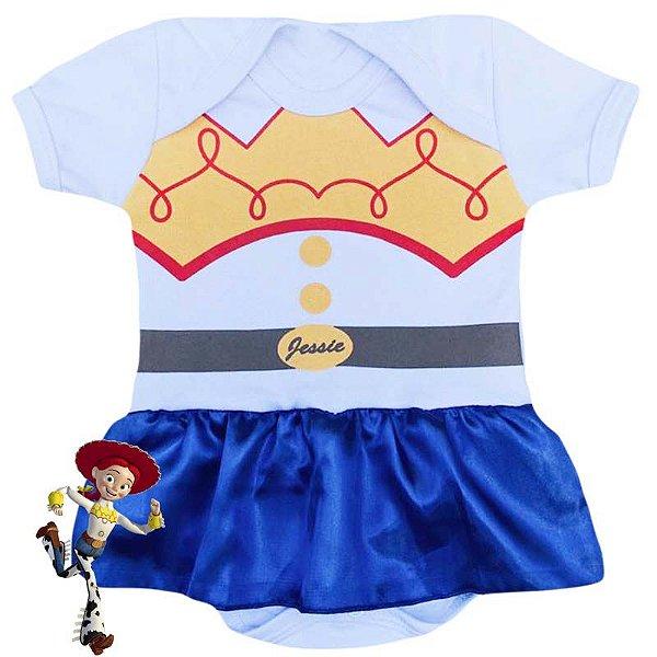 Body Vestido Bebê Toy Story Jessie
