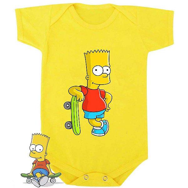 Body Bebê Os Simpsons Bart