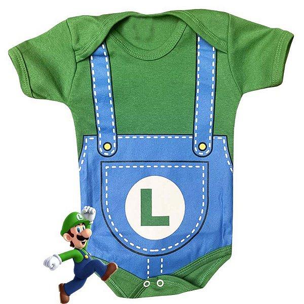Body Bebê Luigi