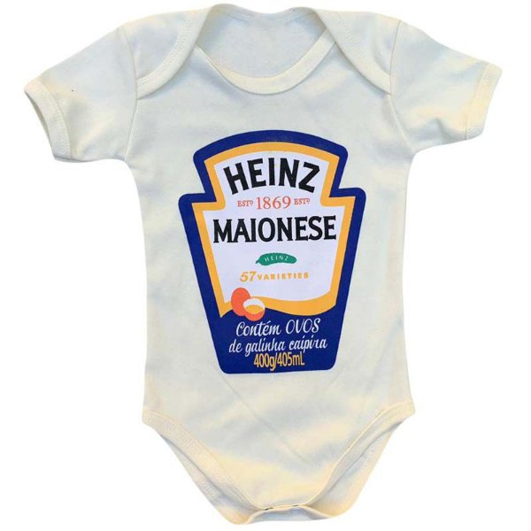 Body Bebê Molho Maionese