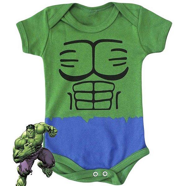 Body Bebê O Incrivel Hulk Corpinho