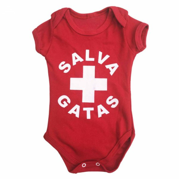 Body Bebê Salva Gatas