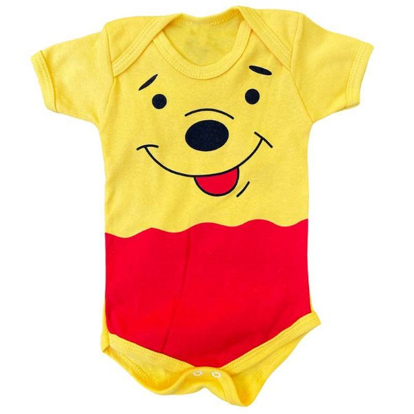 Body Bebê Ursinho Pooh
