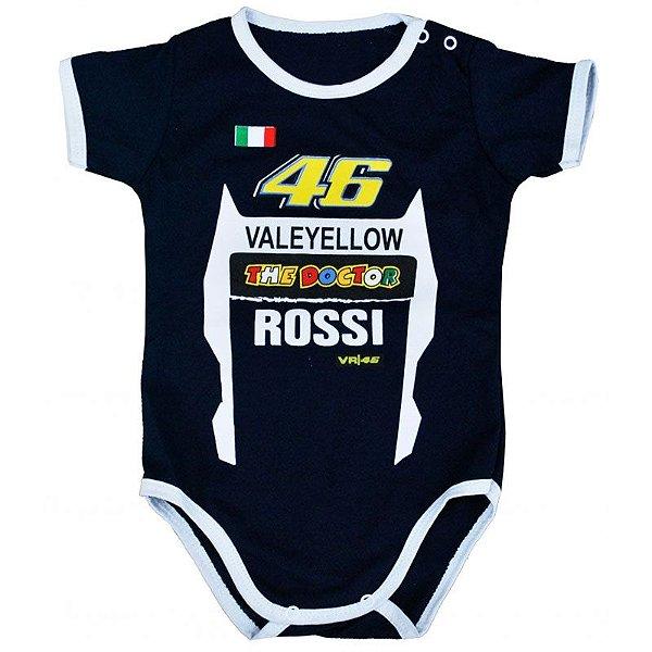 Body Bebê Luxo Valentino Rossi Moto GP The Doctor 46