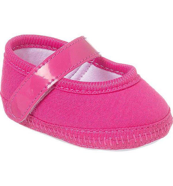 Sapatilha Bebê Basic Rosa Pink