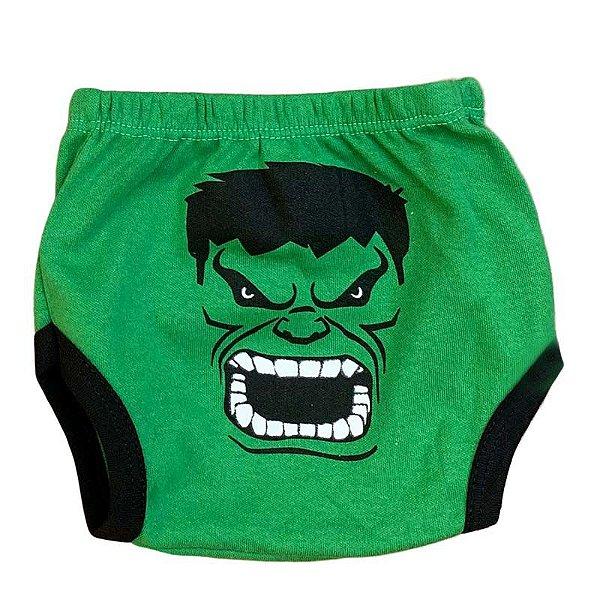 Tapa Fralda Malha O Incrivel Hulk