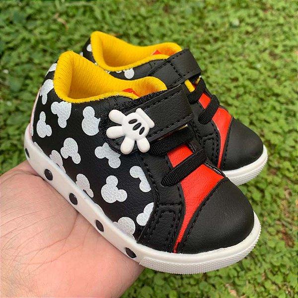 Tênis Bebê Mãozinha Mickey