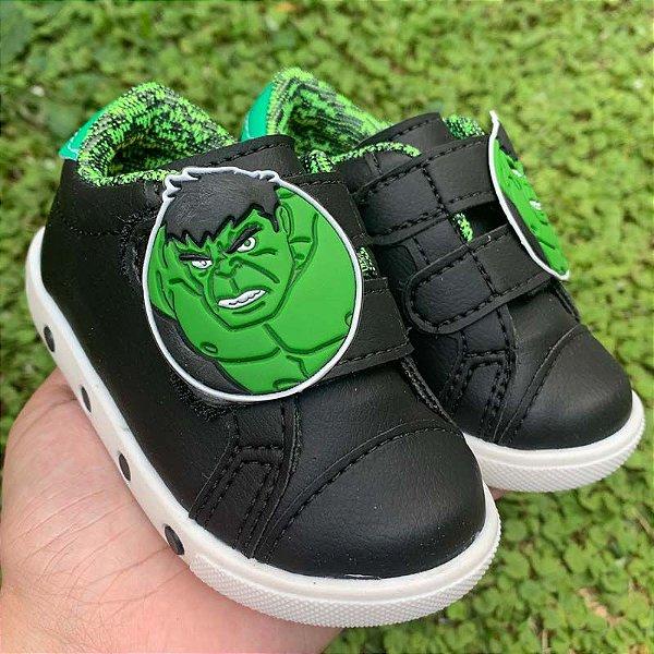 Tênis Bebê O Incrível Hulk