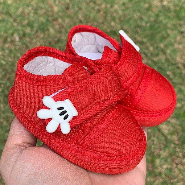 Tênis Bebê Mickey Maozinha