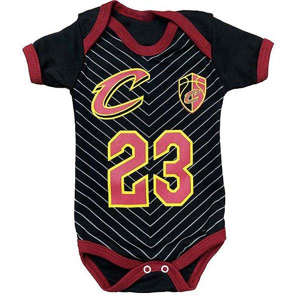 Body Bebê Basquete NBA Cleveland Cavaliers