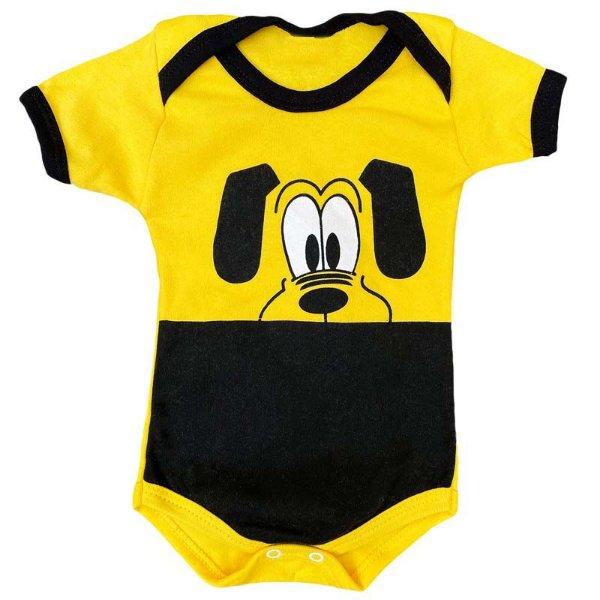 Body Bebê Cachorro Pluto