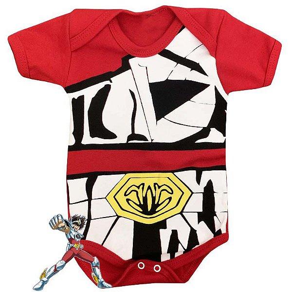 Body Bebê Cavaleiros do Zodiaco Seiya de Pegaso