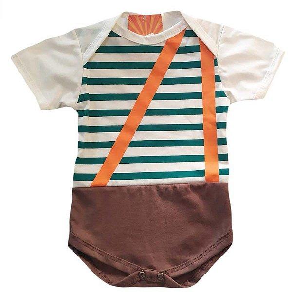 Body Bebê Luxo Turma do Chaves