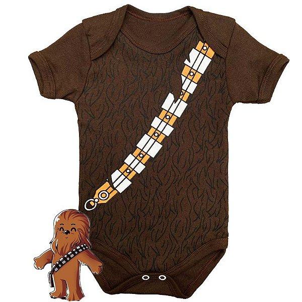 Body Bebê Star Wars Chewbacca