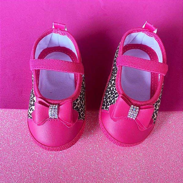 Sapatilha Bebê Oncinha Rosa Pink