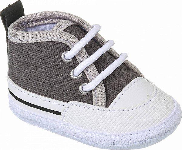Tênis Basic Bebê Cinza Escuro