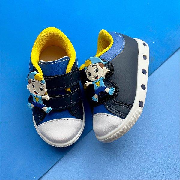 Tênis Bebê Menino Azul