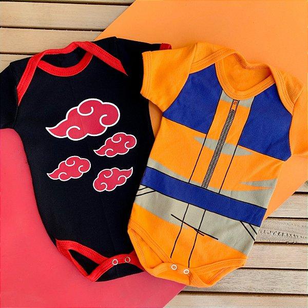 Kit Body Bebê Naruto