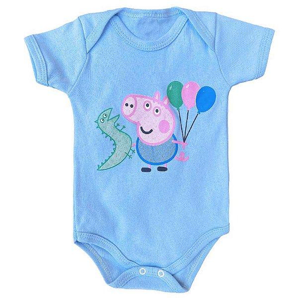 Body Bebê Peppa Pig George