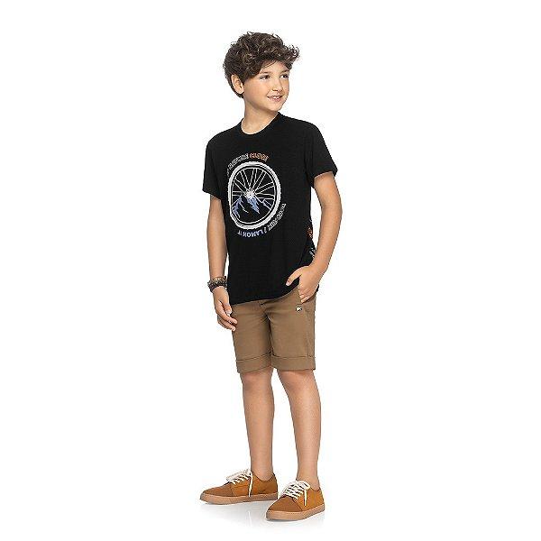 Camiseta Keed Nature Close - Preto