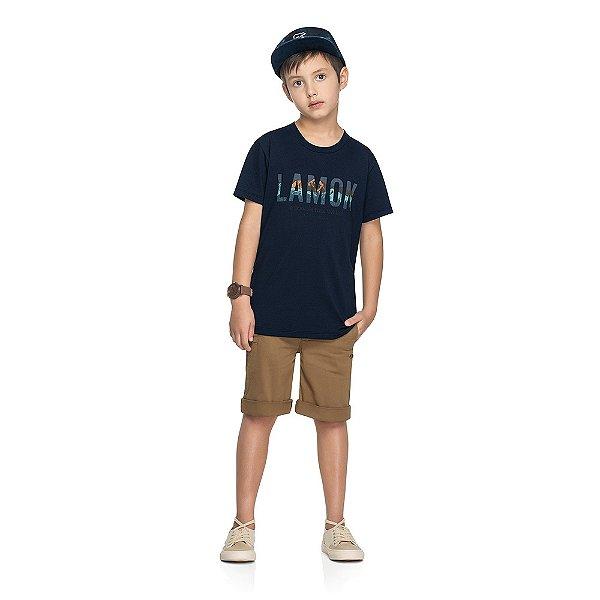 Camiseta Lamon - Navy