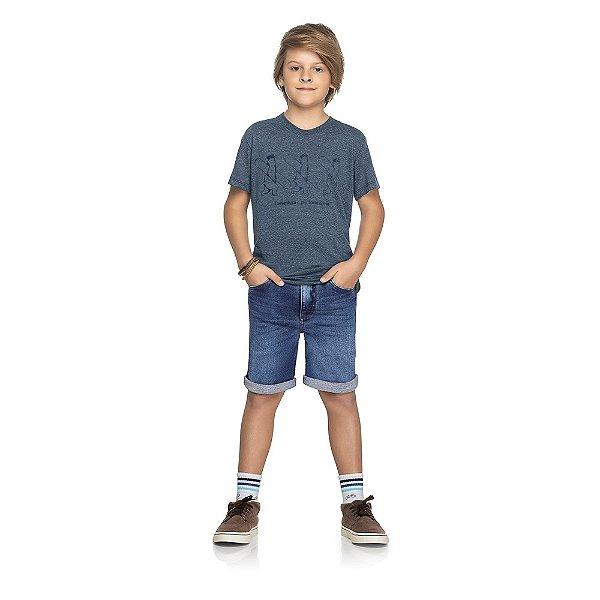 Bermuda Jeans Destroy