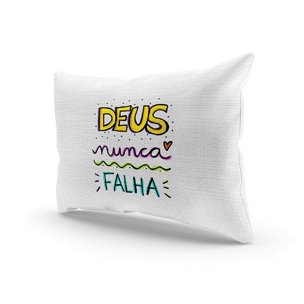 Almofada Decorativa - Deus não falha