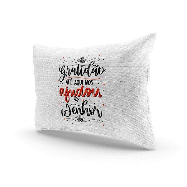 Almofada Decorativa - Gratidão até aqui
