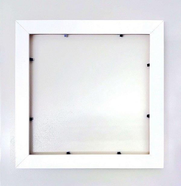 Moldura Decorativa - Branca